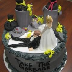 Fêter sa rupture avec des gâteaux de divorce