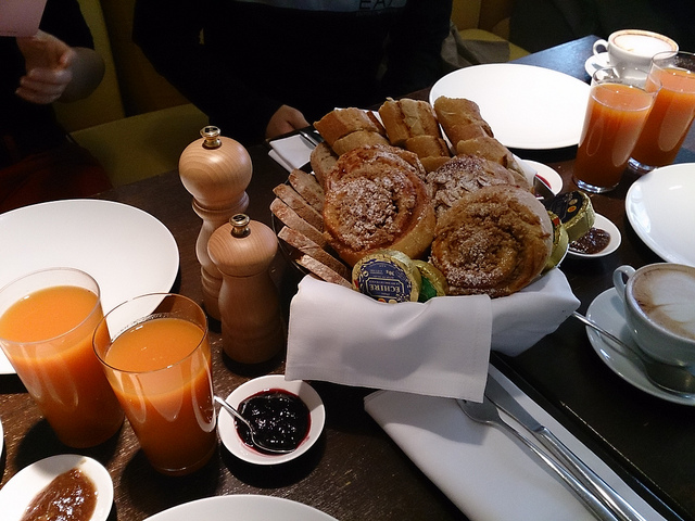 un bon brunch parisien
