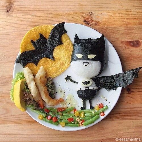 assiette batman