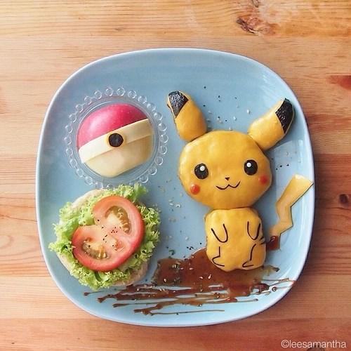 assiete pikachu