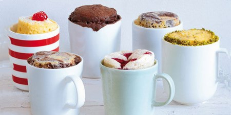 differents mug cakes
