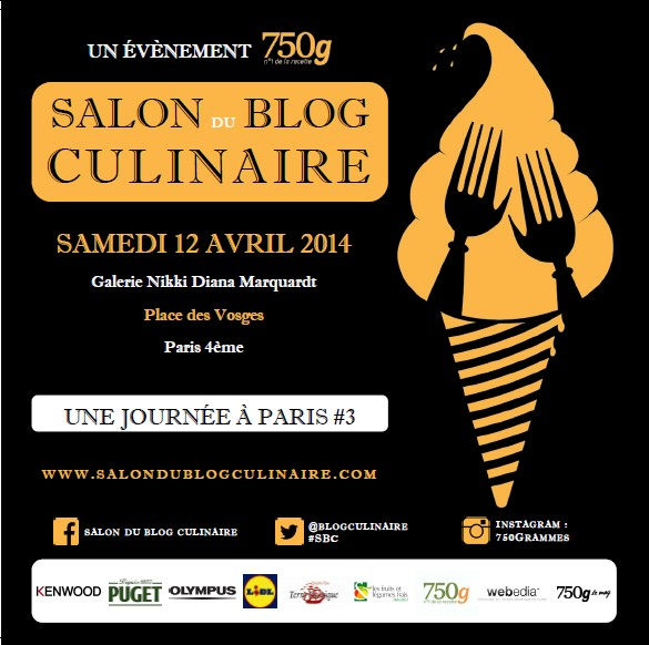 Salon du blog culinaire 2014 for Salon a paris ce weekend