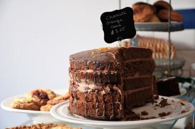5 - CHOCOLATE ORANGE CAKE