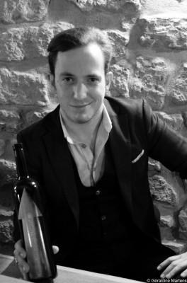 David Rougier, sommelier de l'Ætna, cave à vins naturels à Paris