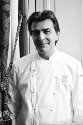 Yannick Alleno, Chef, cuisinier, gastronomie, Le Pavillon Ledoyen, Paris, Guide Michelin, Guiide Michelin 2015, Quai d'Orsay, Lundi 2 février 2015