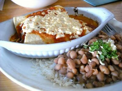 Enchiladas typiques du Mexique