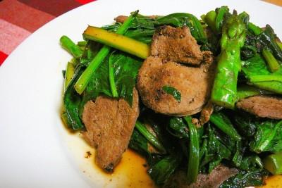 asperges et autres légumes sautés