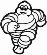 Le célèbre Bibendum de Michelin