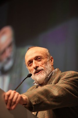 carlo petrini, fondateur de l'association slow food