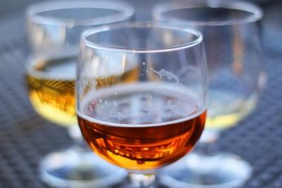 une bonne bière en terrasse