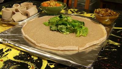 injera, la galette ethiopienne