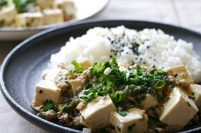 tofu chinois et riz