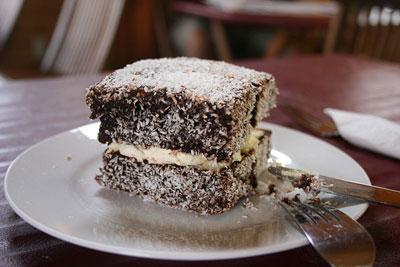 Lamington-dessert-australie