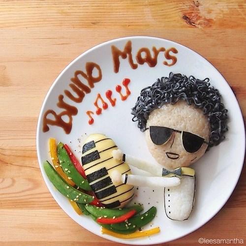 assiette bruno mars
