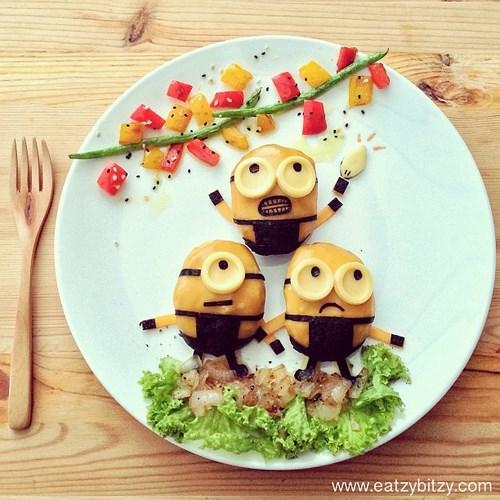 assiette minions