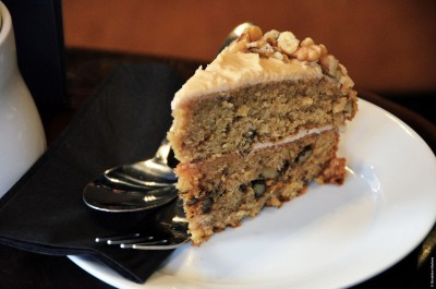 8 COFFEE & WALNUT CAKE