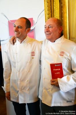 René Meilleur, Maxime Meilleur, Chef, cuisinier, gastronomie, La Bouitte, Saint Martin de Belleville, Paris, Guide Michelin, Guide Michelin 2015, Quai d'Orsay, Lundi 2 février 2015