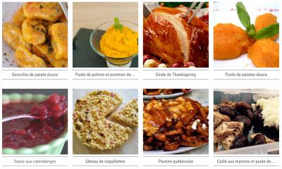 recettes du site Cuisine ta mère