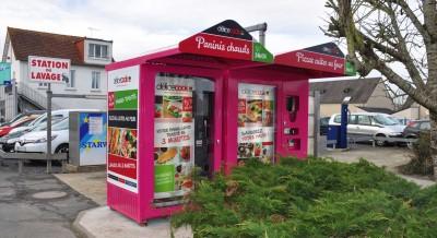 distributeur automatique de panini